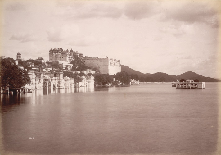 Palace (Rear view), [Udaipur]